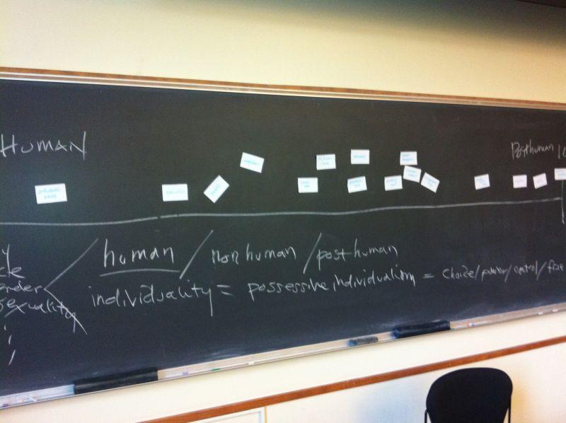 Human/Posthuman Continuum