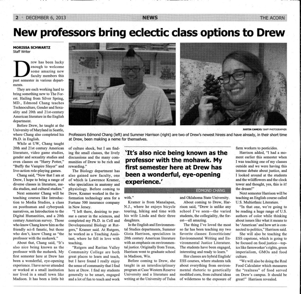 120613_Acorn_New Professors