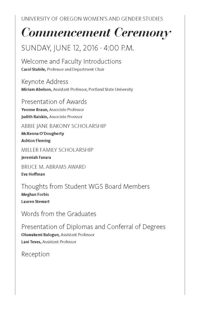 WGS Commencement Program_Page_2